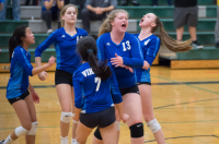 Gallery: Volleyball Bellevue Christian @ Cascade Christian
